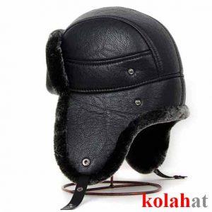 کلاه چرم مردانه زمستانی G5