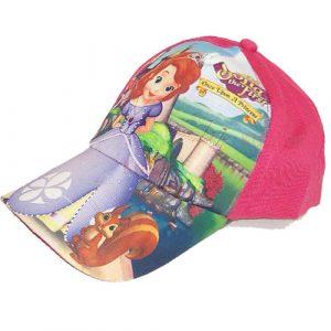 کلاه لبه دار دخترانه تابستانی ۵ تا ۷ سال