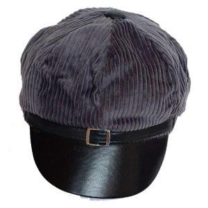 کلاه کاپیتانی زیبا لبه دار مخمل دخترانه K10000031