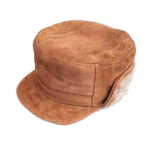 کلاه شکاری چرم خزدار ( KLT-T71 )