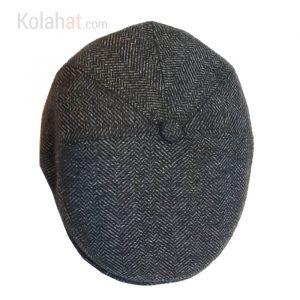 کلاه کپ زغال سنگی هاشور با پارچه اعلا کد118