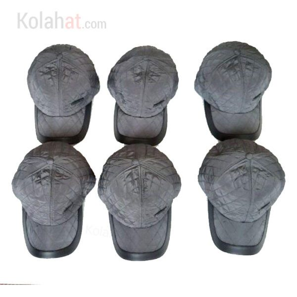 فروش عمده جینی کلاه نقابدار زمستانی طوسی کد144