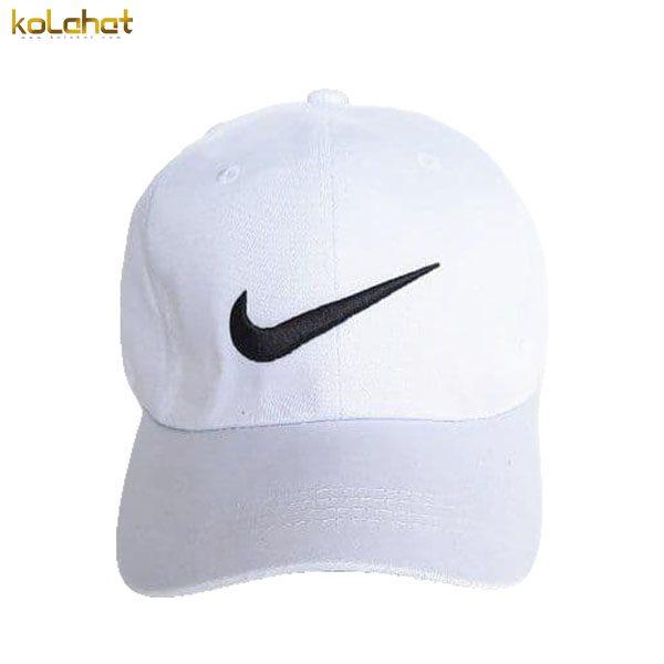 کلاه نقاب دار طرح نایک سفید