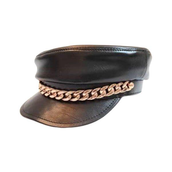 کلاه کاپیتانی زنانه زنجیر دار