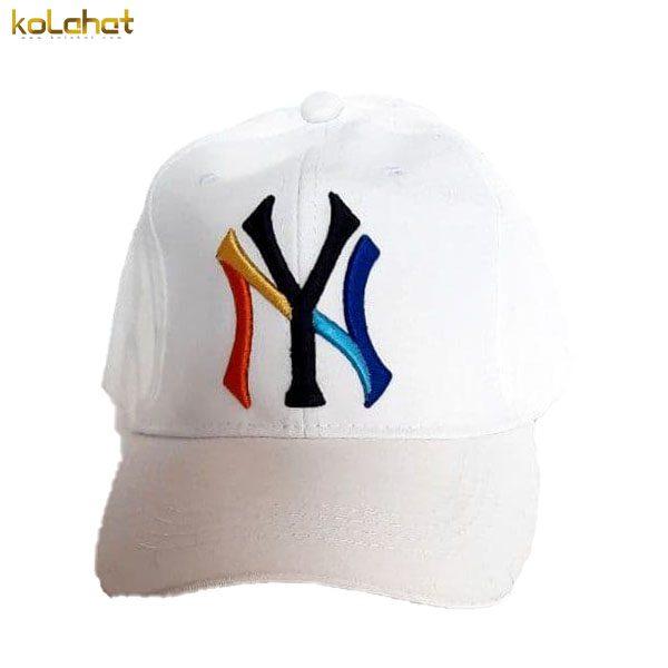 کلاه نقاب دار NY سفید