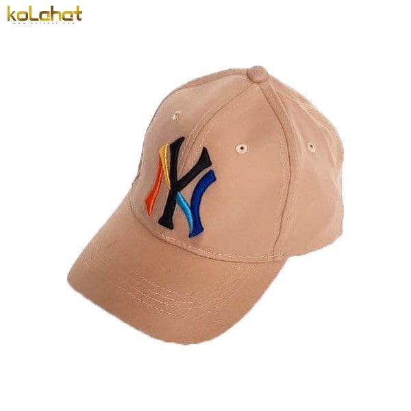 کلاه نقاب دار NY قهوه ای روشن