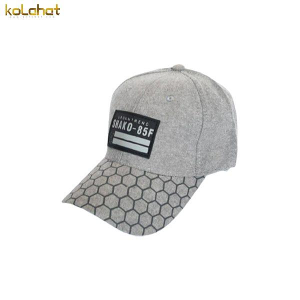 کلاه بیسبالی خاکستری