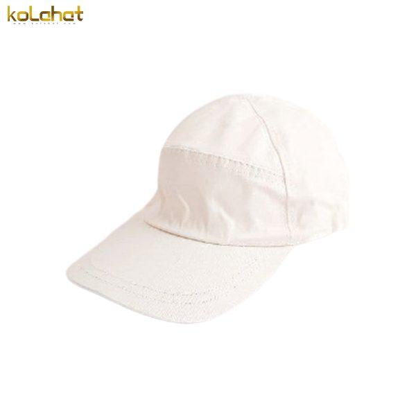 کلاه نقاب دار کتان سفید