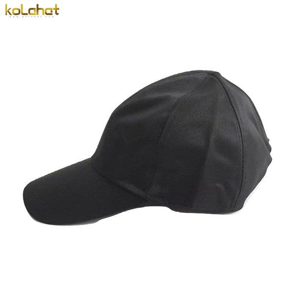 کلاه نقاب دار کتان مشکی