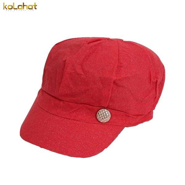 کلاه کاپیتانی زنانه قرمز