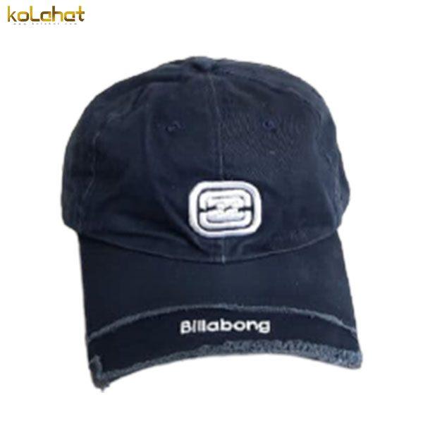 کلاه نقاب دار کتان اسپرت سرمه ای