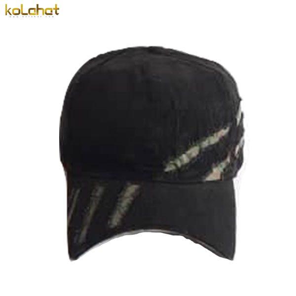 کلاه نقاب دار مخمل زاپ دار مشکی