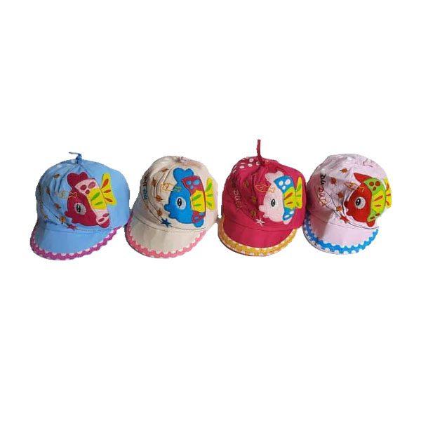 کلاه نوزادی نقاب دار دخترانه