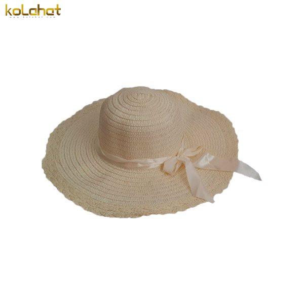 کلاه ساحلی پاپیون دار