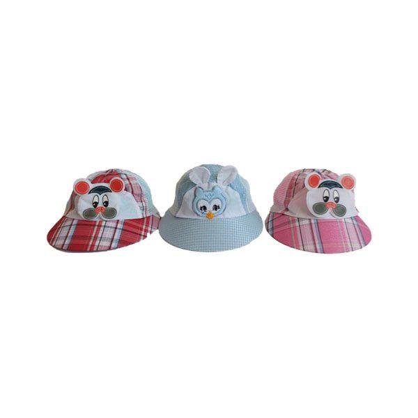 کلاه نوزادی عروسکی بغل تور