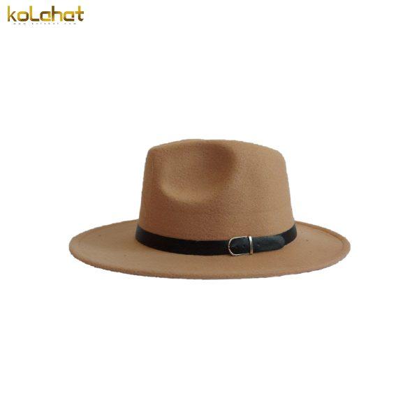 کلاه خاخامی رنگ شتری