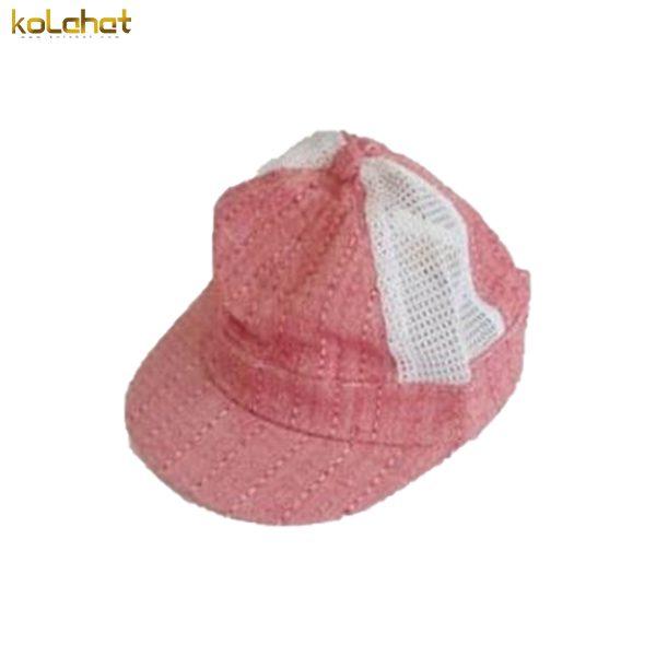 کلاه نوزادی توری نقاب دار