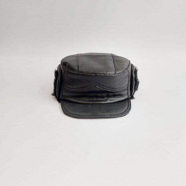 کلاه شکاری چرم عمده ( KLT-O149 )