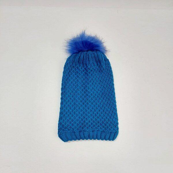 کلاه بافت دخترانه شیطونی ( KLT-T81 )