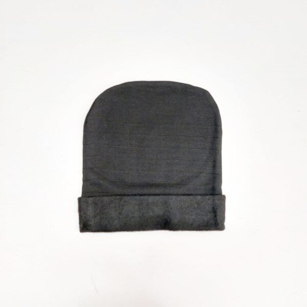کلاه حجاب زنانه ریزبافت مشکی ( KLT-T86 )
