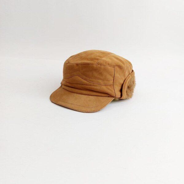 کلاه شکاری چرم خزدار ( KLT-T75 )