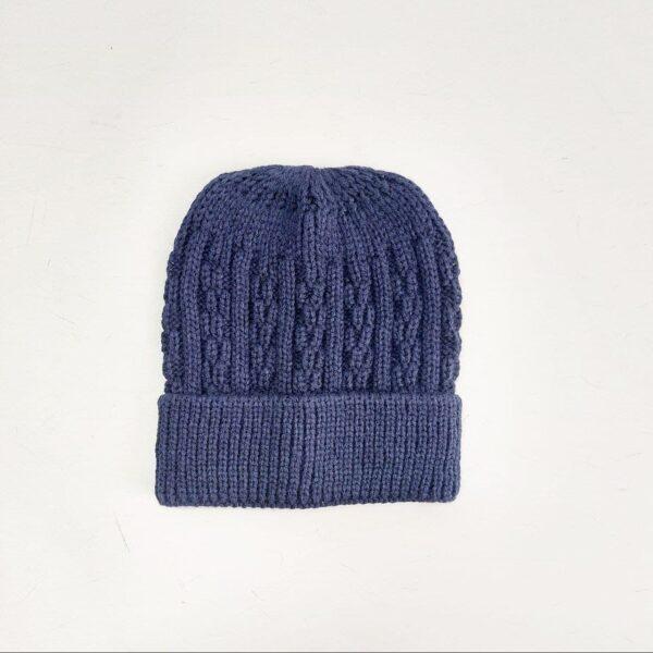 کلاه بافت مردانه لبه دار عمده