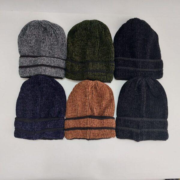 کلاه بافت مخمل مردانه عمده