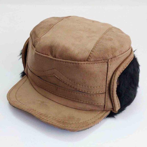 کلاه شکاری پارچه ای خزدار