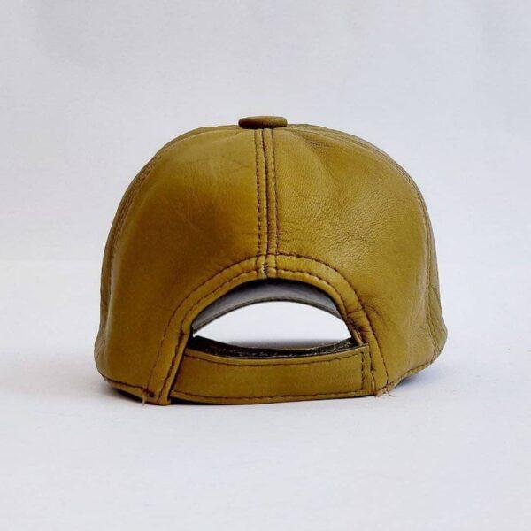 کلاه بیسبالی چرم اصلی عمده